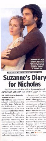 suzanne's diary for nicholas the literary Browse through thousands of study guides on classic and modern literature  literary movements non-fiction plays  suzanne's diary for nicholas by james.